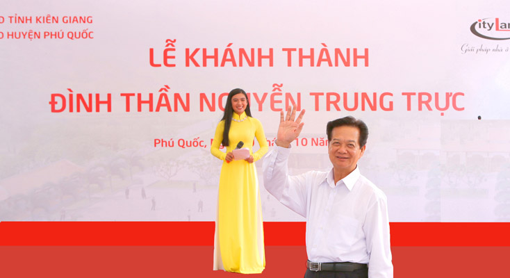 THE OPENING CEREMONY OF GOD NGUYEN TRUNG TRUC TEMPLE