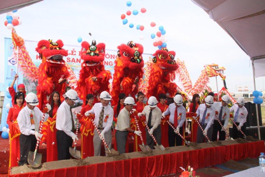 Tổ chức lễ động thổ khởi công
